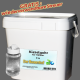 Kieselgur in Lebensmittelqualität für Hühner – natürliche Milbenbekämpfung der Roten Vogelmilbe - inkl. Streuer - 8 kg