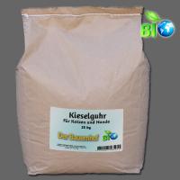 Kieselgur in Lebensmittelqualität für Katzen und Hunde – natürliches Mittel gegen Flöhe - inkl. Streuer - 25kg