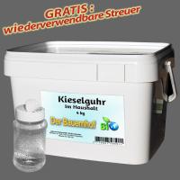Kieselgur gegen Bettwanzen, Ameisen, Schaben und Spinnen – natürliches Mittel - 4kg +p