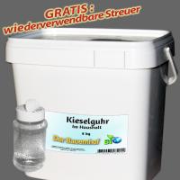 Kieselgur gegen Bettwanzen, Ameisen, Schaben und Spinnen – natürliches Mittel - 8kg +p